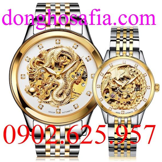 Đồng hồ đôi cơ Aesop 9008 AS201