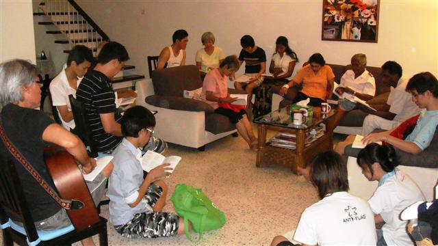 Home Cell Group 18