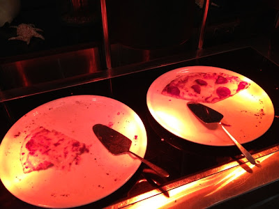 Pizza at Petals Restaurant, Rose Rayhaan by Rotana