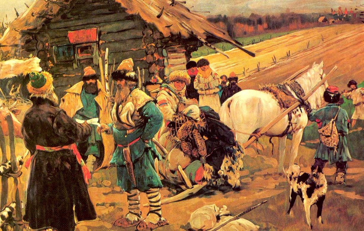 Жизнь русских крестьян