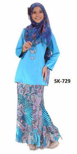 Baju Kurung Moden (Baju Kurung Malaysia) Princess Cut Murah Cantik ...