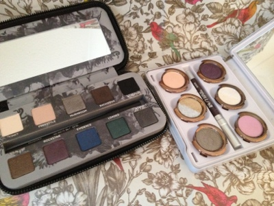 Open smoked and Glinda Urban Decay Palettes