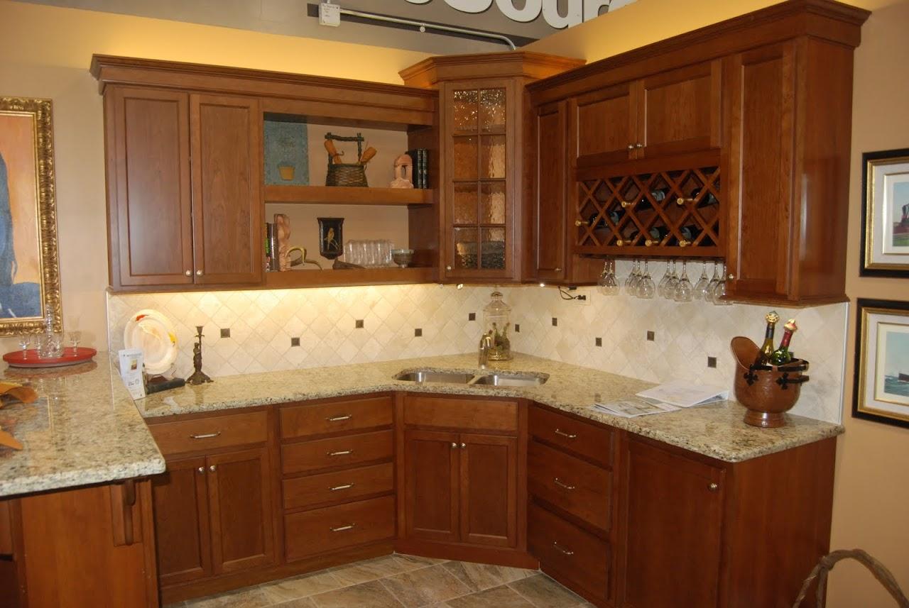 Kitchen Over Cabinet Lighting Light In Corner Glass Cabinet