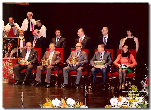 Personajes Proclamados, Cabalgata 2014