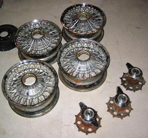 K-H wire wheels LA Craigslist