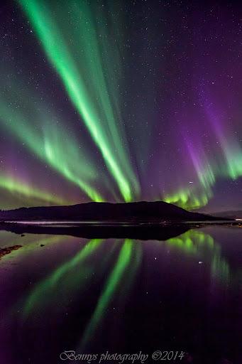 Aurora outburst in Norway. Photographer Benny Høynes