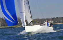 J/70 speedster- sailing faster than any sportsboat downwind