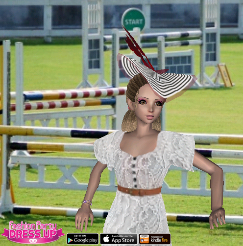 Fashion Party Dress Up Level 14 - Horse Eventing - Anne - Snapshot