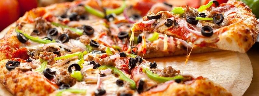 Pizza facebook kapak fotoğrafı