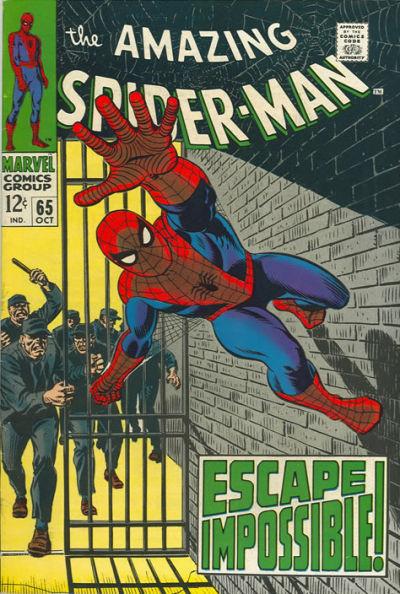 Amazing Spider-Man #65, jailbreak
