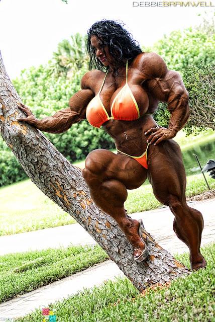 Debbie Bramwell muscle morph