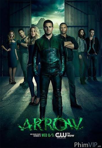 Mũi Tên Xanh 2 - Arrow Season 2 poster