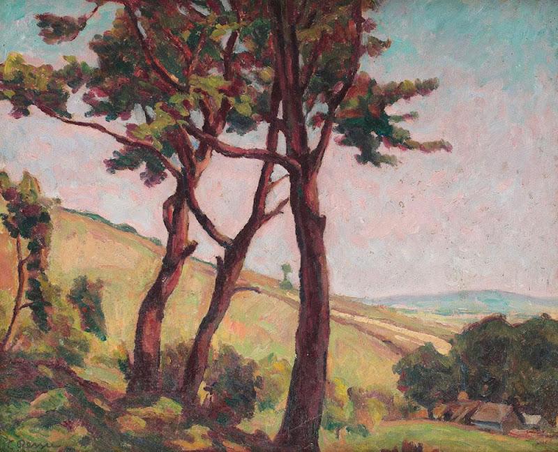 Camil Ressu - Peisaj din Vlaici