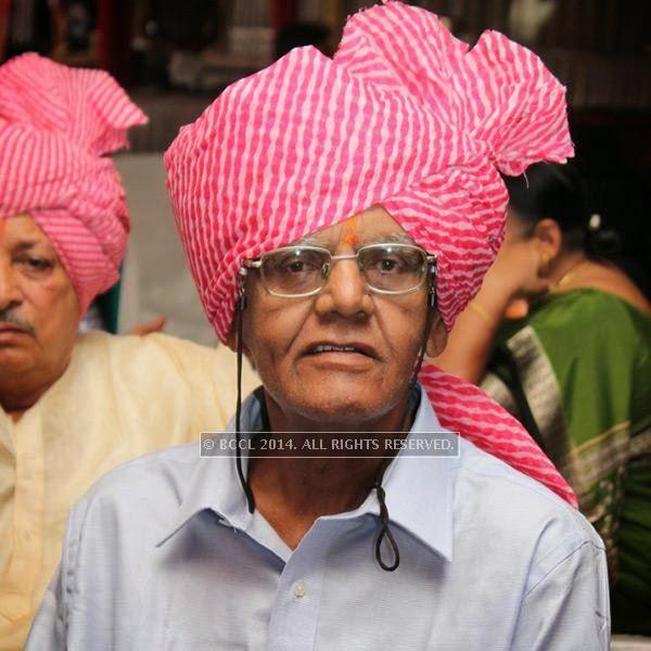 Vijay Deshpande at Sonam and Akshay Deshpande's  wedding ceremony at Swagat Lawns in Nagpur.