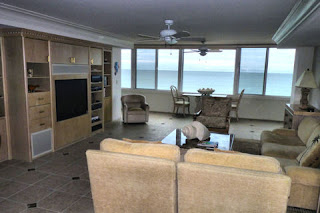Living Room open to the Gulf of Mexico