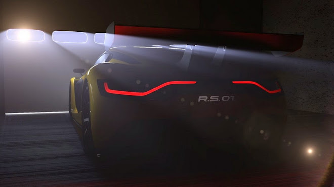 MOSCOW 2014 - RENAULT SPORT R.S. 01 get teased [VIDEO]