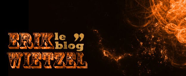 Erik Wietzel le blog