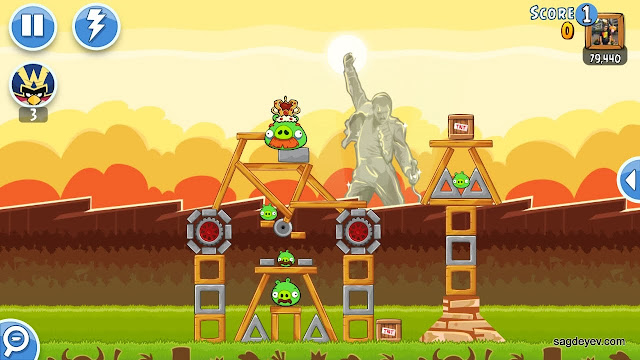 Angry Birds Friends: Freddie For A Day Level 1 - Racing Car