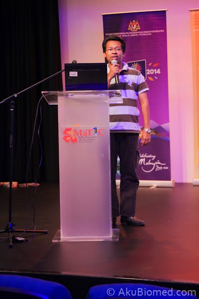 Dr Sharkawi Che Din dari Universiti Teknologi MARA