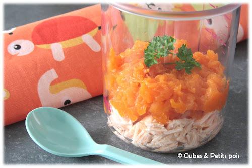 recette-bebe-8mois-parmentier-citrouille-patate-douce-paprika-saumon-fenouil