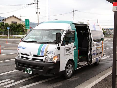 西日本鉄道「橋本駅循環ミニバス」 0502 橋本駅乗車扱い中
