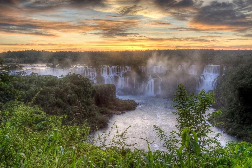 Игуасу, Аргентина, Красивые водопады планеты