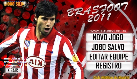 Skin do Aguero para Brasfoot 2011 Registrado