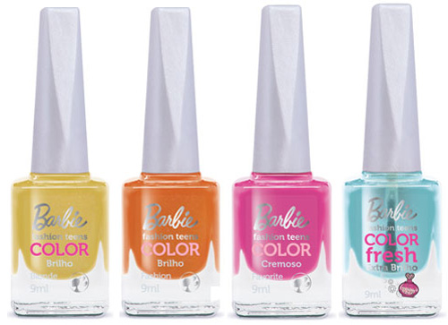 Esmaltes Barbie Fashion Teens