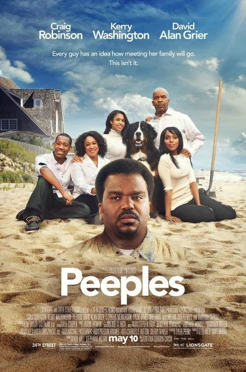 Poster Of English Movie Peeples (2013) Free Download Full New Hollywood Movie Watch Online At Alldownloads4u.Com