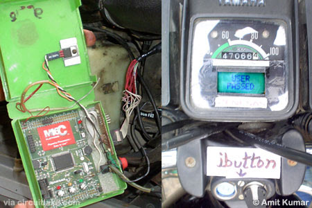 Data Acquisition System for Bike