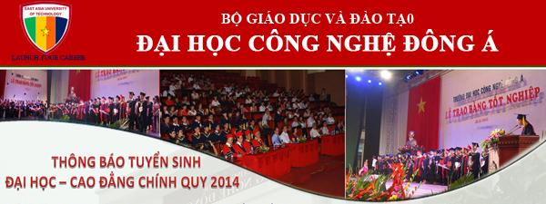 Đại học Đông Á tuyển sinh đại học, cao đẳng 2014
