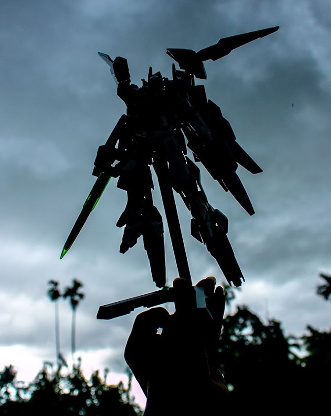 (หัดโม) GND-001/HS-AS D.Aviation Exia Gundam โดย deary