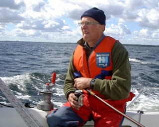 Jan Kjeldsen fra Herslev i Drabant 24, Båden