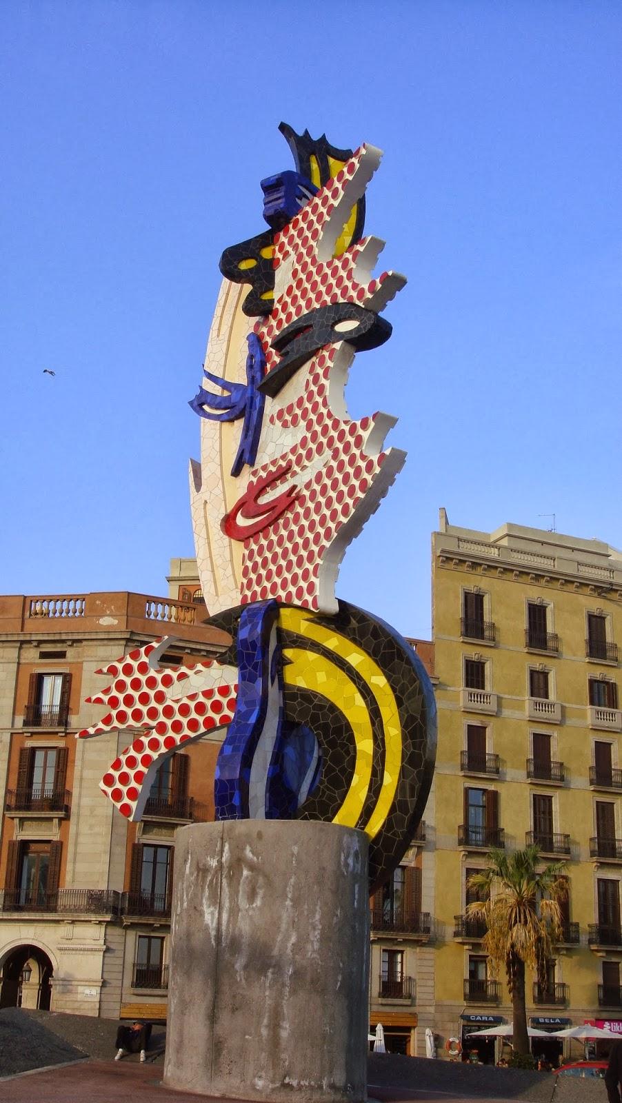 Esculturas, Port Vell, Barcelona, Elisa N, Blog de Viajes, Lifestyle, Travel