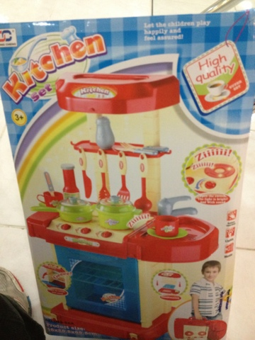New toys captain america and a kitchen set from toy for Kitchen set toy kingdom