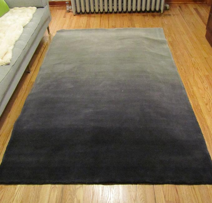 ... West Elm Ombre Rug   Grey Gradient Tones Make For A Beautiful Addition  To Any Room