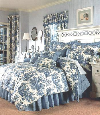 Male pattern boldness toile de jouy yea or nay - Toile de jouy decoration ...