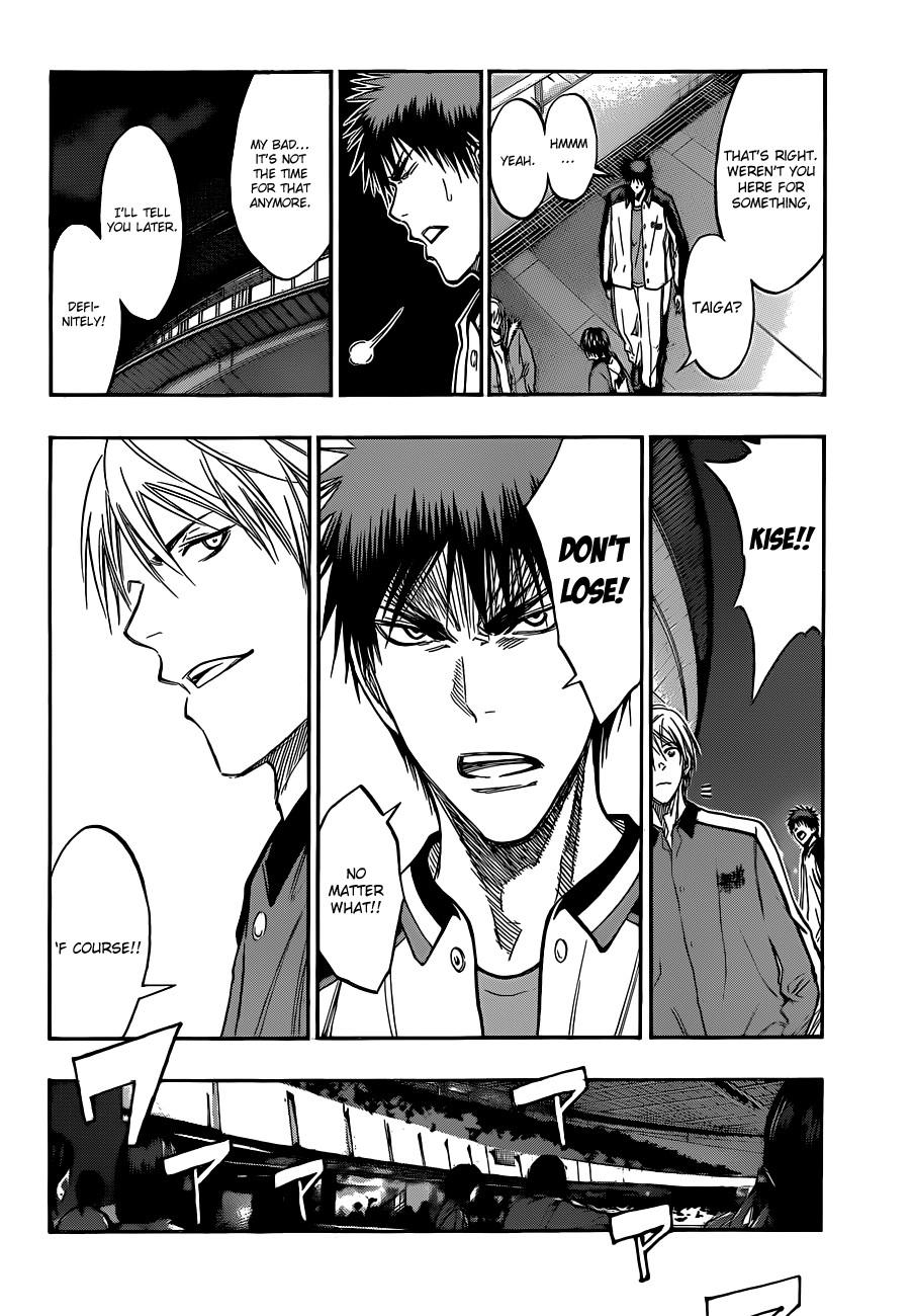 Kuroko no Basket Manga Chapter 170 - Image 16