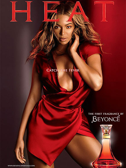 HOT SINGER BEYONCE KNOWLES FAMOUS PERFUME HEAT