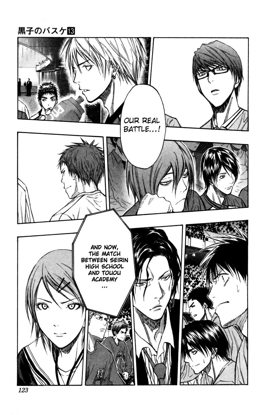 Kuroko no Basket Manga Chapter 114 - Image 17