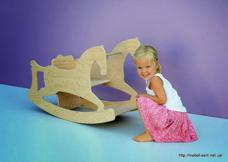 Лошадка качалка подарит радость любому ребенку