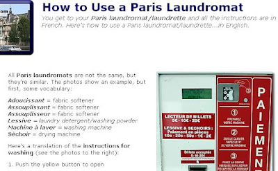 How to Use a Paris Laundromat