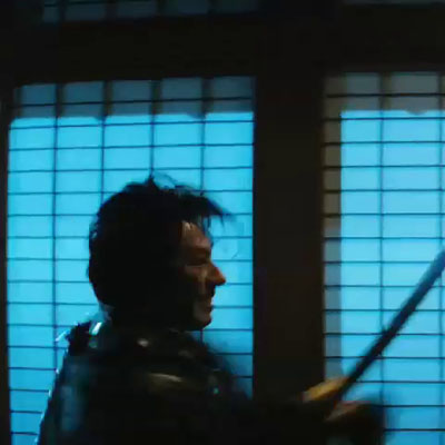 The Wolverine Samurai Fight