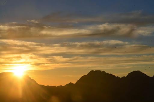 笠ヶ岳山荘の空