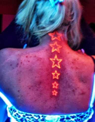 glow dark tattoos