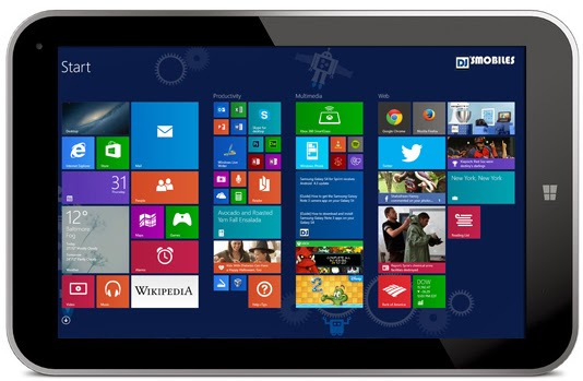 Upcoming Windows 8.1 tablets with Intel's Bay Trail processors