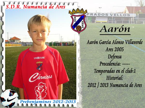 ADR Numancia de Ares. Aaron.