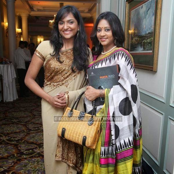 Mansa and Wanitha attend the book launch of Maya Rao's autobiography, titled Maya Rao - A Lifetime in Choreography at ITC Windsor, Bangalore.