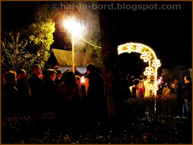 noaptea de inviere 2012 curte biserica ortodoxa baile herculane
