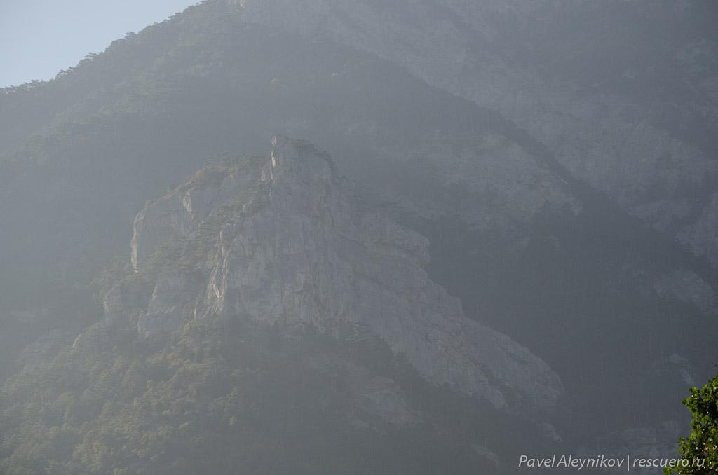 Вершина Ставри-Кая. Необработанное фото.